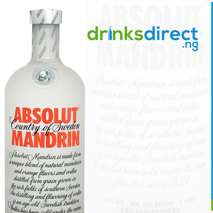 ABSOLUT MADARIN 1LTR