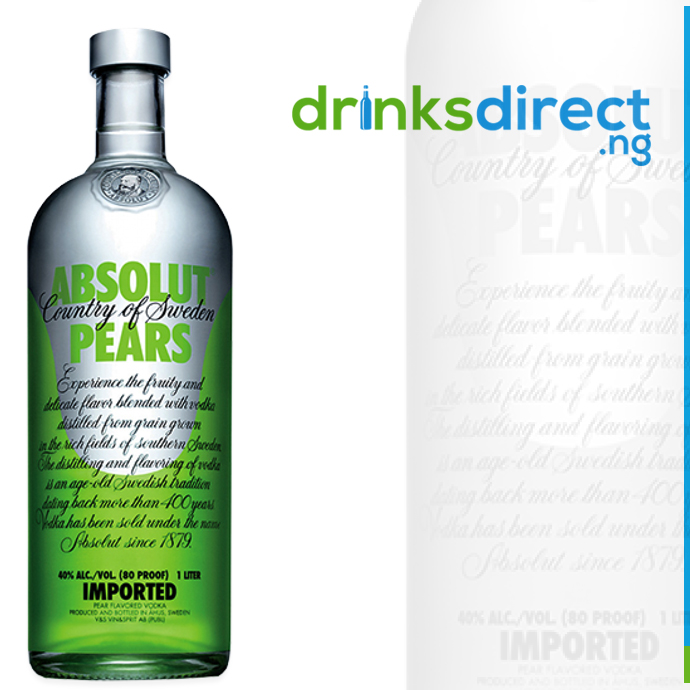 ABSOLUT PEAR 1LTR