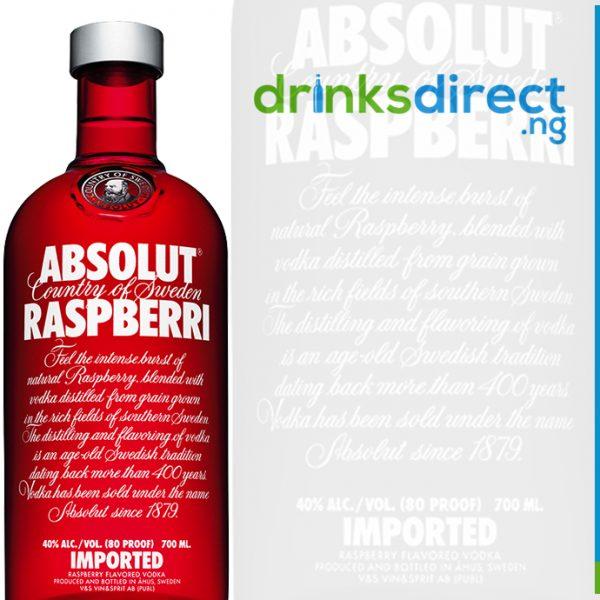 ABSOLUT RASPBERRY 1LTR