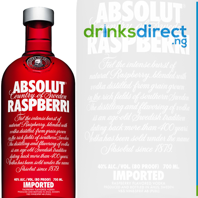 ABSOLUT RASPBERRY 1LTR