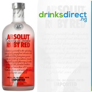 ABSOLUT RUBY RED 1LTR