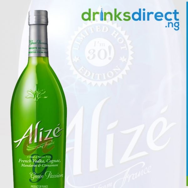 ALIZE GREEN  PASSION 75CL