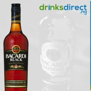 BACARDI BLACK 1LTR