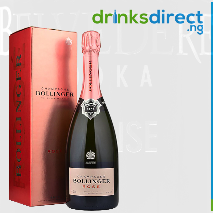 BOLLINGER ROSE (IBC) 75CL