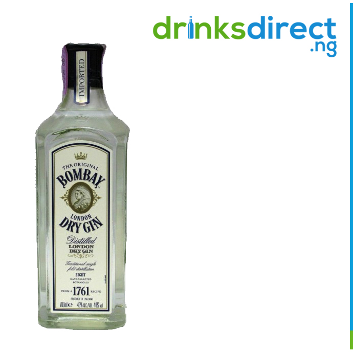 BOMBAY DRY GIN 75CL