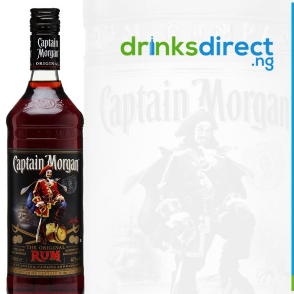CAPTAIN MORGAN BLACK RUM 70CL