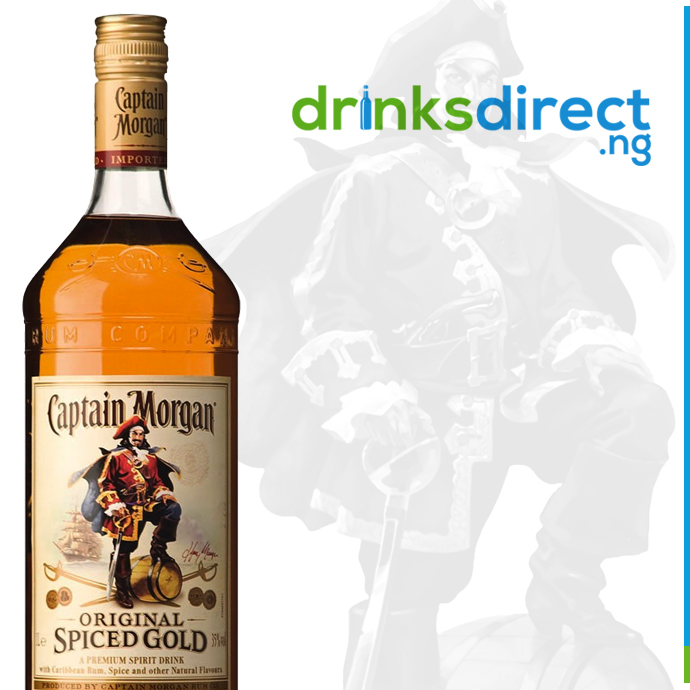 CAPTAIN MORGAN SPICED GOLD RUM 70CL