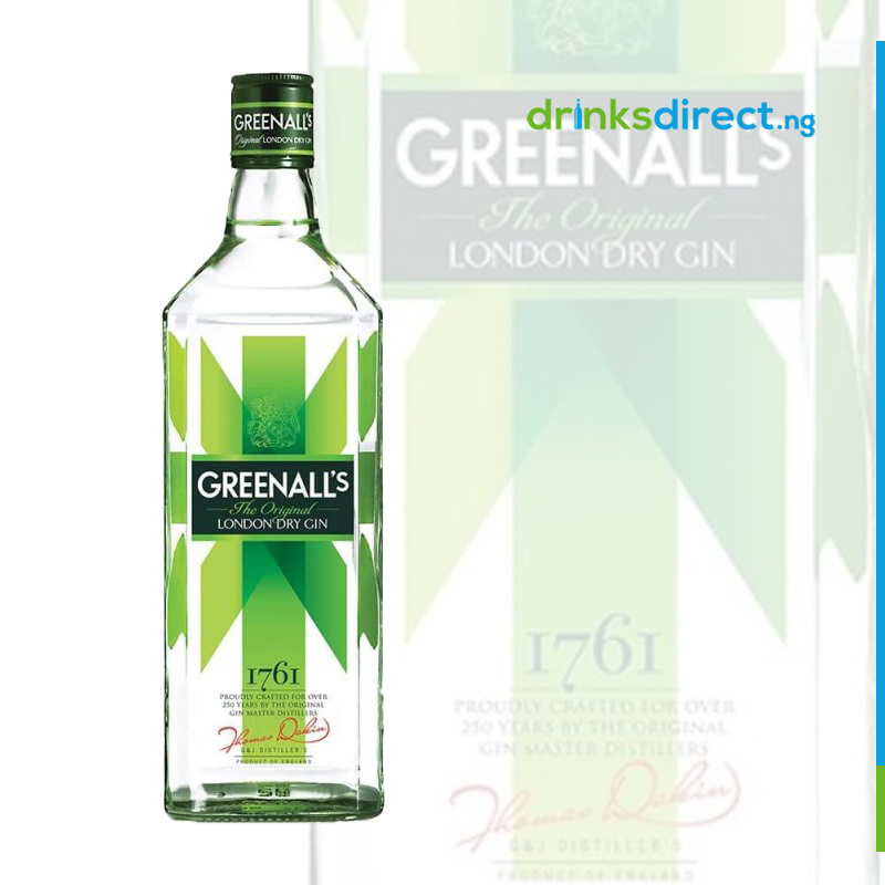 GREENALL's DRY GIN 70CL