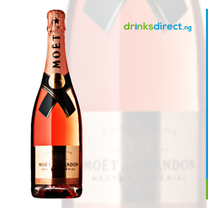 MOET NECTAR IMPERIAL ROSE 75CL