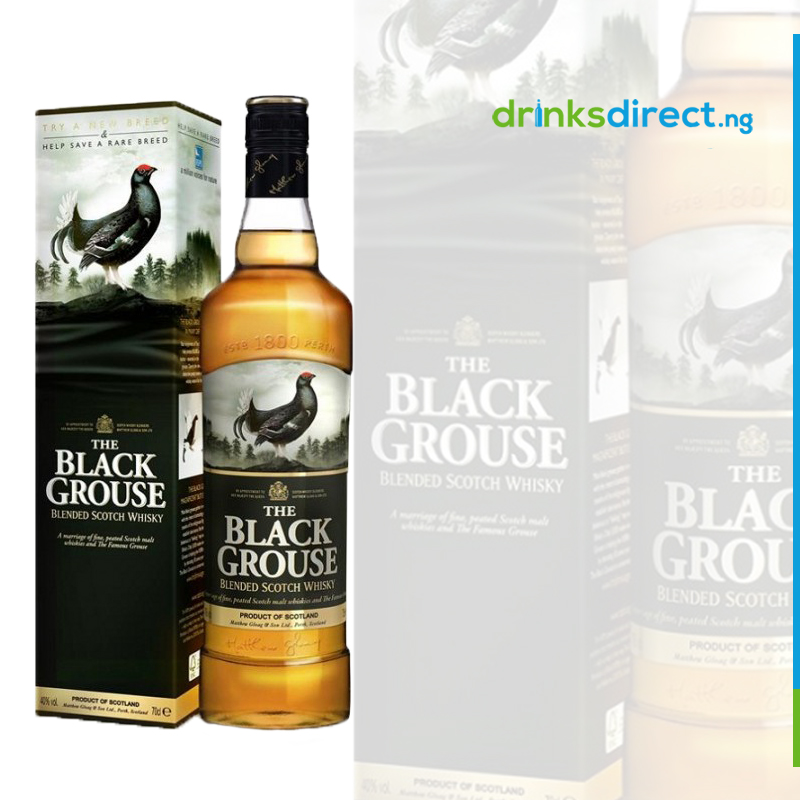 BLACK GROUSE WHISKEY 75CL