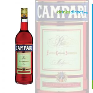 CAMPARI BITTERS 37.5CL