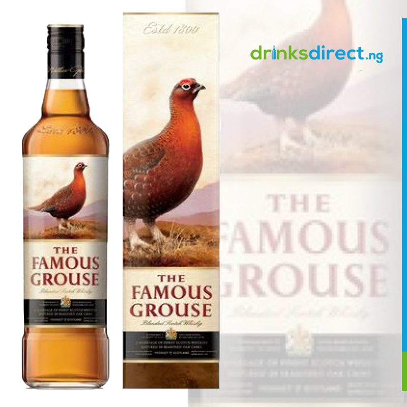 FAMOUS GROUSE WHISKEY 75CL