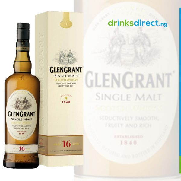 GLEN GRANT WHISKY 16 YEAR OLD – 70CL