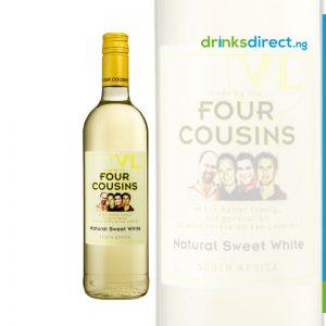 FOUR COUSINS WHITE WINE