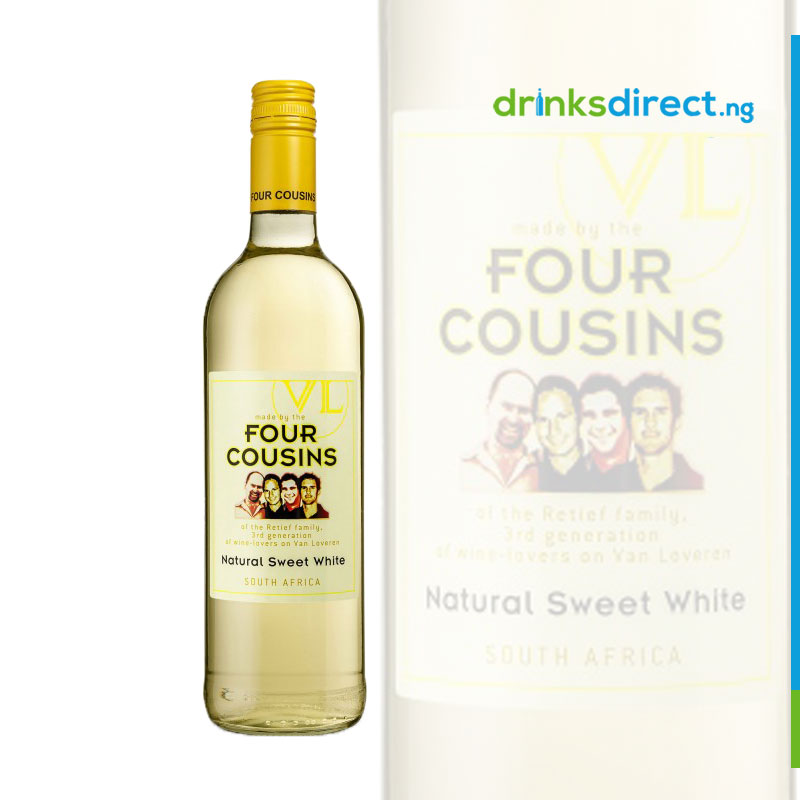 FOUR COUSINS WHITE WINE