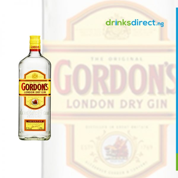 GORDONS LONDON DRY GIN 75CL(IMPORTED)