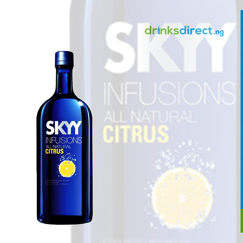 SKYY VODKA INFUSION CITRUS 1 LTR