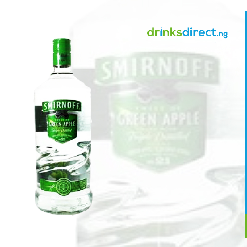 SMIRNOFF GREEN APPLE 1 LTR