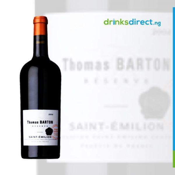 THOMAS BARTON BORDEAUX 2010 AOC 75CL