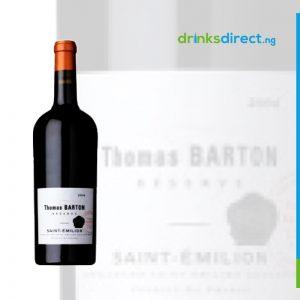 THOMAS BARTON ST EMILION 2010 AOC 75CL