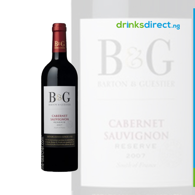 B & G CABERNET SAUVIGNON RED 75CL