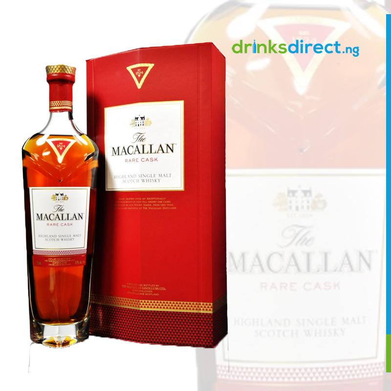MACALLAN RARE CASK WHISKEY 75CL
