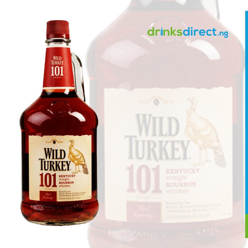 WILD TURKEY 101 AMERICAN WHISKEY 75CL