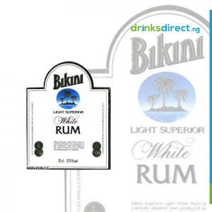 BIKINI WHITE RUM 75CL