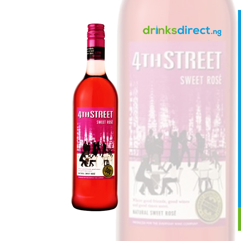 4TH STREET ROSE WINE