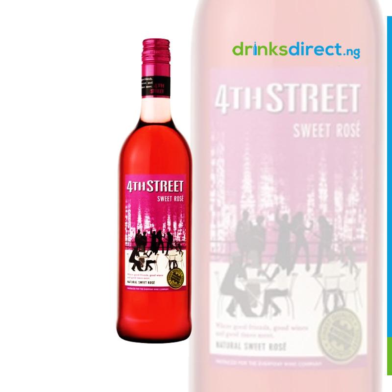 4TH STREET ROSE WINE