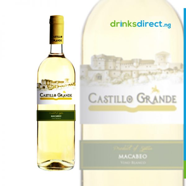 CASTILLO GRANDE WHITE 75CL