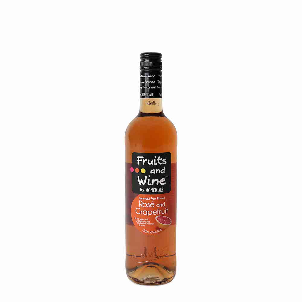 FRUIT AND WINE (FRAMBOISE RASPBERRY, WHITE SANGRIA, STRAWBERRY ) 75CL