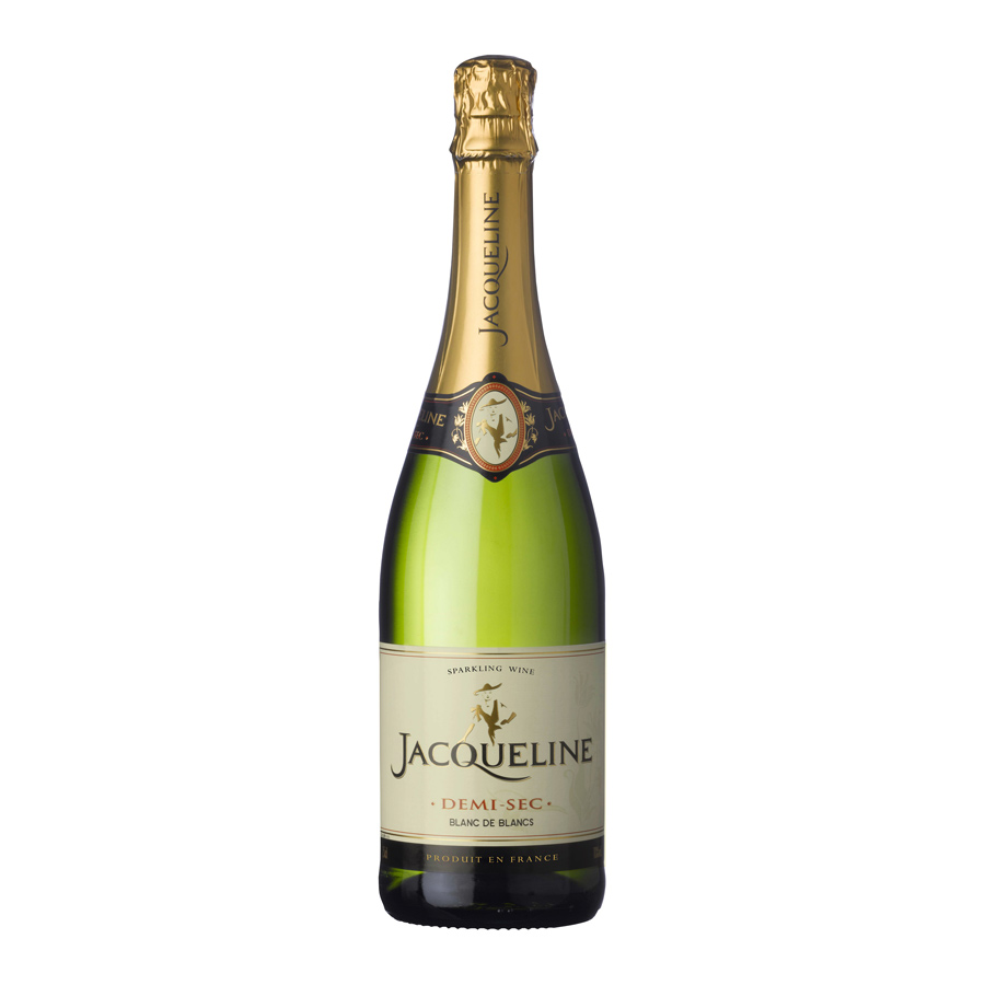 JACQUELINE DEMI-SEC 11% 75CL