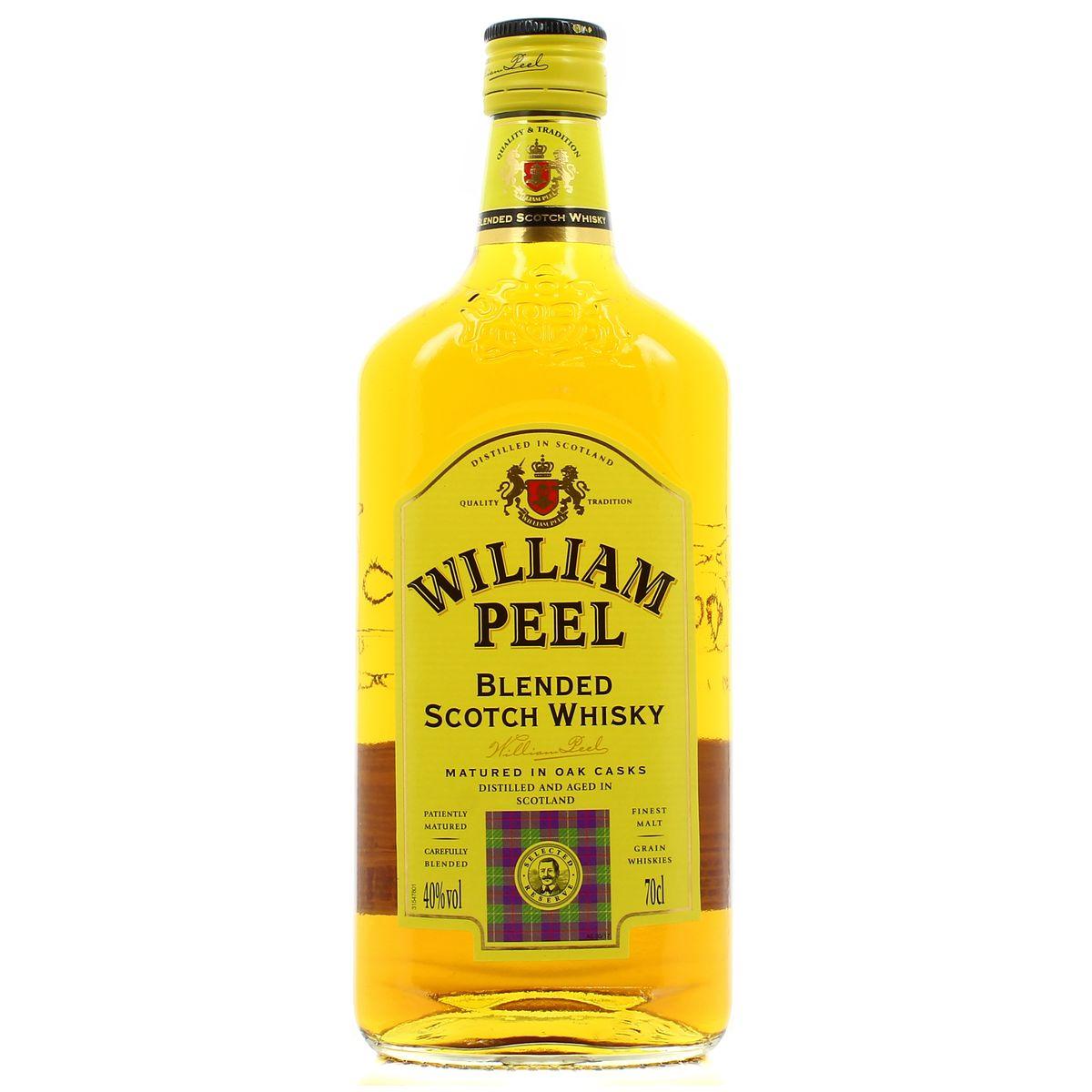 SCOTCH WILLIAM PEEL 70CL