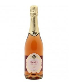 CHARLES DU LAC ROSE 75CL